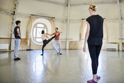 SDC and Paris Opera Ballet dancers. Photo courtesy of SDC.