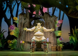 'Shrek the Musical'. Photo by Helen Maybanks.