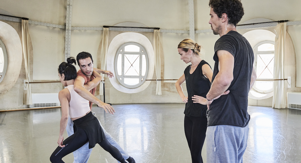SDC and Paris Opera Ballet dancers. Photo courtesy of SDC