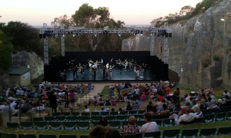 Ballet at the Quarry.