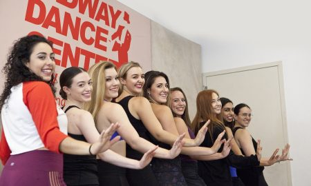 Students at Broadway Dance Centre. Photo by Belinda Strodder