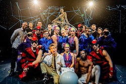The cast of 'Cosmos'. Photo courtesy of Cirque du Soleil.