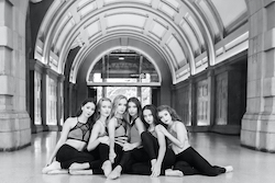 Verity Hall, Amy Stewart, Jamie McPhee, Ava Toms, Milani Kinkade, Jemima Smith. Photo by Renate Hechter PureDynamics Photography/@puredynamicsphoto.