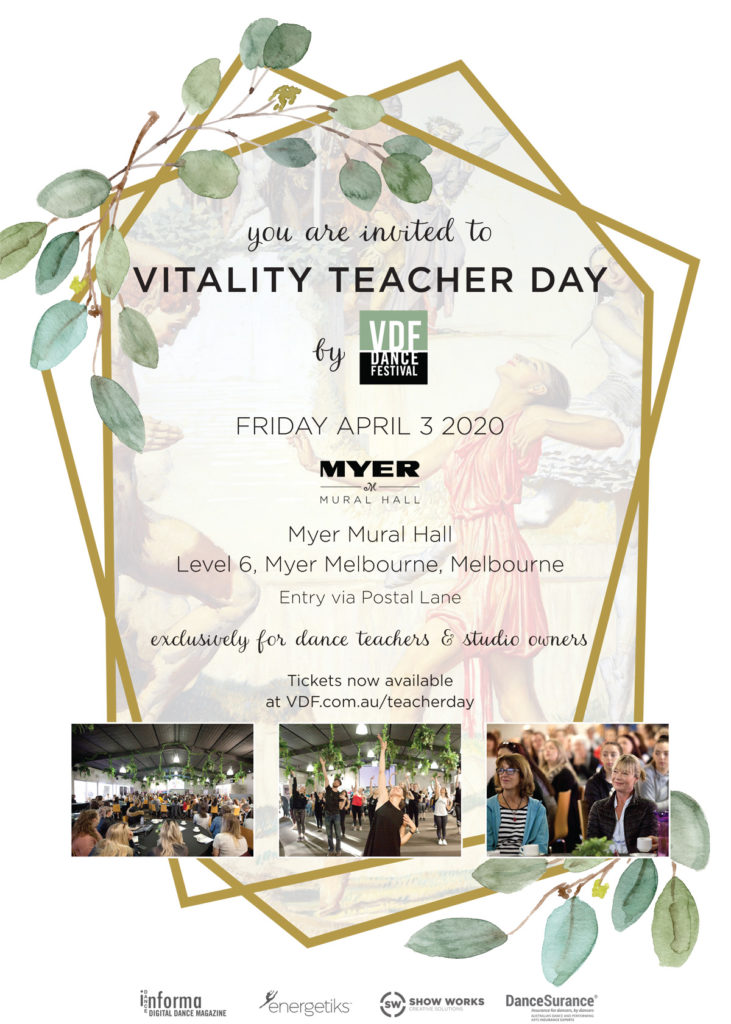 Vitality Teacher Day 2020 Poster
