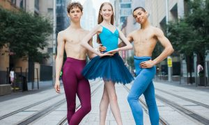 Lincoln Sharp, Eliza Wenham and Austen McDonald. Photo by Renate Hechter PureDynamics Photography.