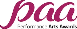 Performance Arts Awards logo.