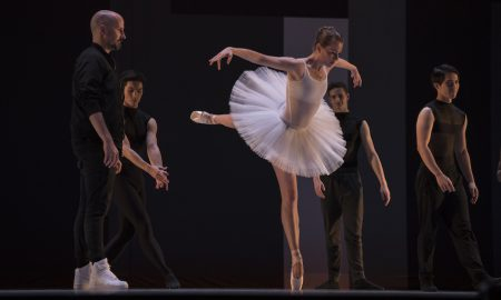 Robert Curran with Company Dancer Ashley Thursby. Photo by Sam English.
