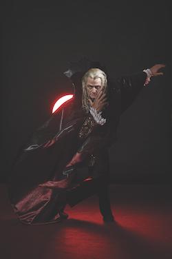 Aurélien Scannella as Old Dracula. Photo by Frances Andrijich.