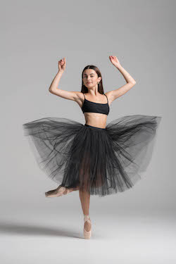 NZSD Classical Ballet Student Tayla-Rose Frisby. Photo by Stephen A'Court.