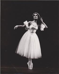 Jane Devine in 'Les Sylphides'. Photo courtesy of Devine.