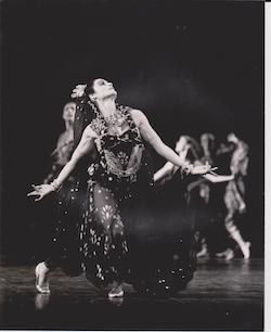 Jane Devine in 'Prince Igor'. Photo courtesy of Devine.