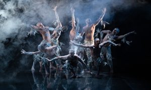 Bangarra Dance Theatre in 'Bennelong'. Photo by Daniel Boud.