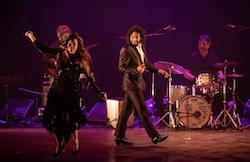 Christiane Matallo and Jason Samuels Smith at the Brasil International Tap Festival.