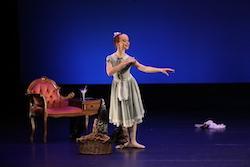 Demi-Character Artistic Award Recipient Phoebe Segman. Photo by DancePro Photography.