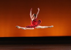 Evelyn Hodgkinson Scholarship Recipient and Junior Female Dancer Award Madison Curtis. Photo by DancePro Photography.