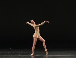 Pre Professional Award Recipient Holly Inglis. Photo by DancePro Photography.