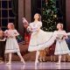 Carina Roberts as Clara with Child Guest Artists in West Australian Ballet's 'The Nutcracker'. Photo by Sergey Pevnev.