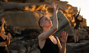 Jesse Scales in Dance Locale Coast. Photo by Daniel Boud.