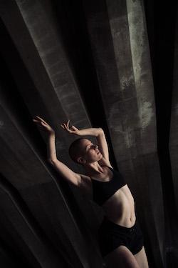 Jesse Scales in Dance Locale Sydney Opera House. Photo by Daniel Boud.