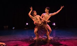 Karma Dance's Raina Peterson and Govind Pillai.