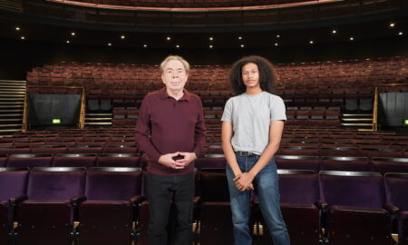 Andrew Lloyd Webber and Ivano Turco.
