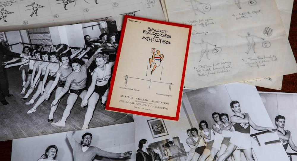 'Ballet Exercises for Athletes'. Photo courtesy of Ali Wright, Dance Gazette.