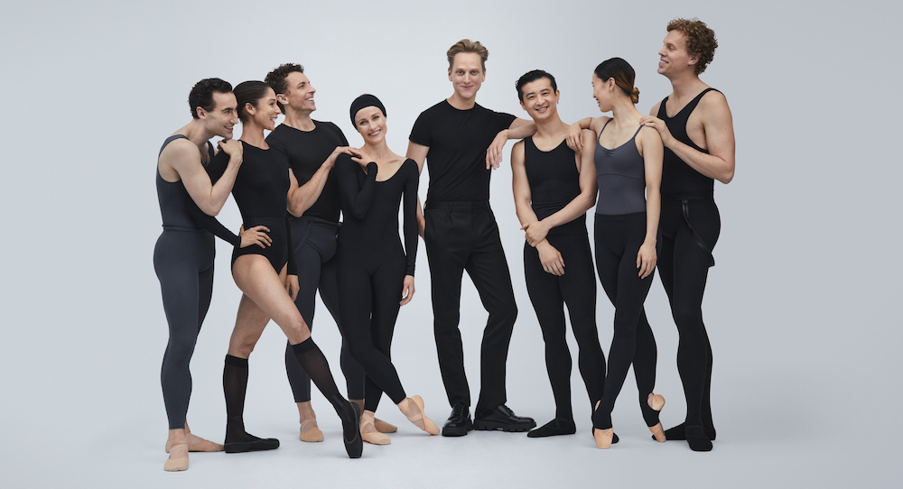 David Hallberg with Principal Dancers of The Australian Ballet. Photo by Pierre Toussaint.