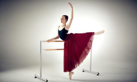 Harlequin ballet barre.