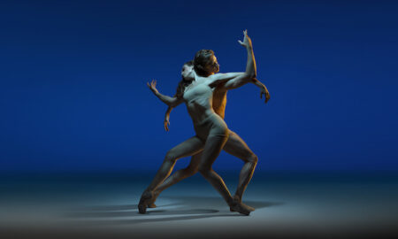 Alexa Tuzil and Ludovico Di Ubaldo for 'As One: Ballet at the Quarry'. Photo by Frances Andrijich and Wunderman Thompson.