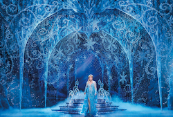 Jemma Rix in 'Frozen'. Photo by Lisa Tomasetti.