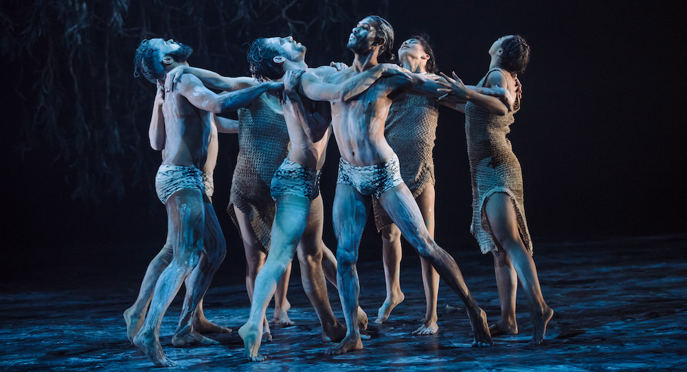 Bangarra Dance Theatre in 'Ones Country'. Photo by Daniel Boud.