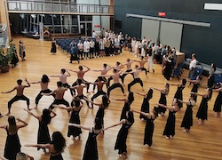 NZSD powhiri to welcome new 2021 students.