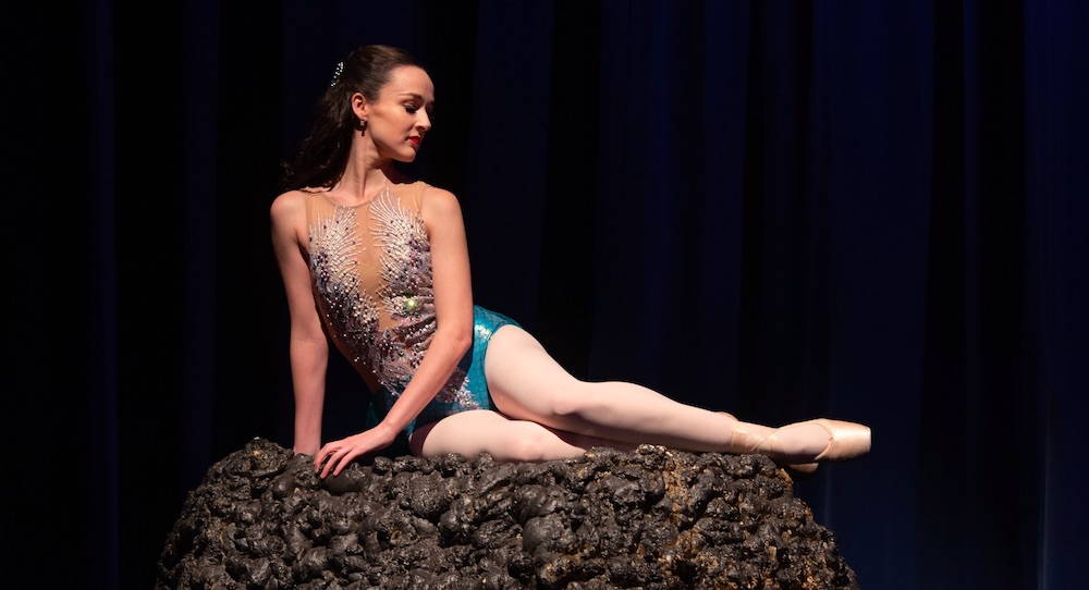 Victorian State Ballet's Alana Puddy as Ariel in 'Little Mermaid'. Photo by Enpointe Productions.