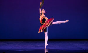 Neneka Yoshida in 'Don Quixote'. Photo by David Kelly.