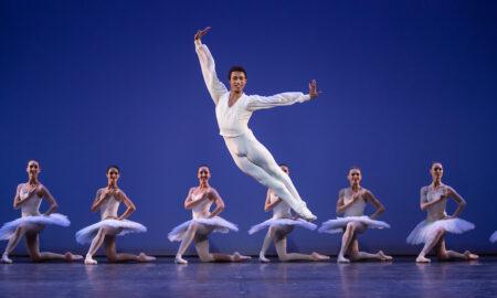 Queensland Ballet's Patricio Revé in 'Études'. Photo by David Kelly.