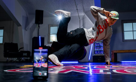 B-Girl Kastet. Photo courtesy of Red Bull BC One.