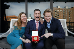 Liz Toohey, David McAllister and David Hallberg. Photo by Chris Pavlich.