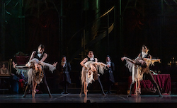 The dancers of West Australian Ballet as Vampires in Dracula (2020). Photo by Bradbury Photography.
