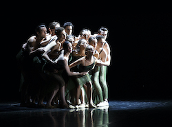 The dancers of West Australian Ballet in 'Air and Other Invisible Forces'. Photo by Sergey Pevnev.