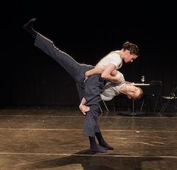 West Australian Ballet in 'GAINSBOURG'. Photo by Sergey Pevnev.