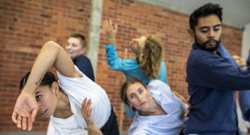 New Zealand Dance Company Winter School. Photo by Caroline Bindon.